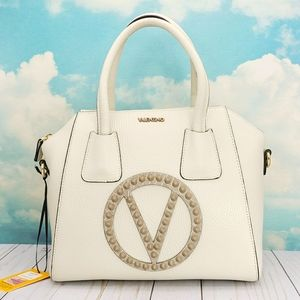Valentino Minimi Rock Leather Satchel